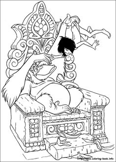41 Best Coloring Pages The Jungle Book Images Coloring Pages