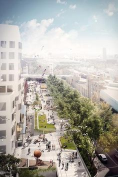 Sydney's version of New York High Line underway - Vogue Living