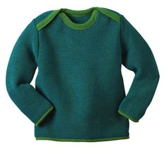Organically Baby - Organic Wool Mélange Jumper in Green from Disana -  Made in Germany, $48.00 (http://www.organicallybaby.com/organic-wool-melange-jumper-in-green-from-disana-made-in-germany/)