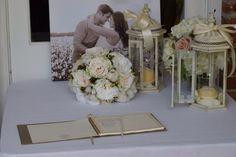 Silk rose and Cotten brides bouquet