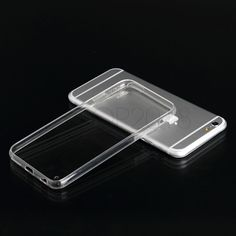 """High Quality Transparent Slim Clear Soft TPU Case for iPhone 6 4.7"""" 6 Plus 5.5"""""""
