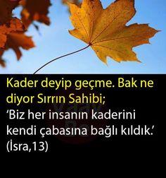 İsra 13 Duaa Islam, Allah Islam, Meaningful Lyrics, Learn Turkish Language, Spirituality Books, Hafiz, Weird Dreams, Islamic Quotes, Quran