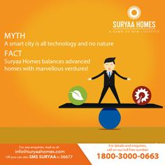 Enjoy the striking balance of advanced living with green pastures improving your health only at Suryaa Homes! For more information, visit- www.suryaahomes.com