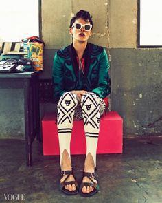 Kim Wonjung, Jung Hoyeon, Han Kyunghyun, Hwang Gippeum, Seon Hwang by Hong Janghyun for Vogue Korea Feb 2015