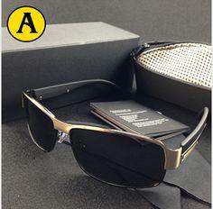 R  55.8  Mercedes Imitação Designer de Marca Oculos de sol Masculino Óculos  De Sol Dos Homens Polarizados Óculos De Sol Para Homens Orignal Gafas de sol  ... 0fa152be5d