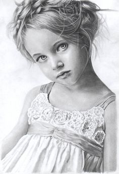 Discover The Secrets Of Drawing Realistic Pencil Portraits.Let Me Show You How You Too Can Draw Realistic Pencil Portraits With My Truly Step-by-Step Guide. Portrait Au Crayon, Pencil Portrait Drawing, Realistic Pencil Drawings, Graphite Drawings, Amazing Drawings, Beautiful Drawings, Portrait Art, Pencil Art, Cool Drawings