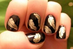 Google nail stamp art