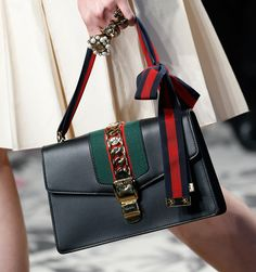 Gucci Gets Detailed for Its Spring 2016 Runway Bags