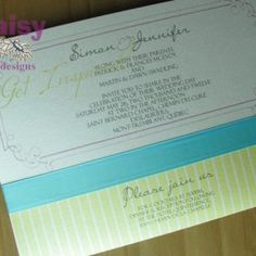 Old newsprint invite black from daisy designs pinterest find this pin and more on wedding invites by daisy designs stopboris Choice Image