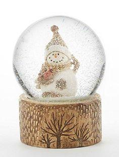 Resin Snowman Snowglobe