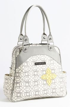 Pretty Print!  Petunia Pickle Bottom 'Glazed Sashay' Satchel (Nordstrom Exclusive) available at #Nordstrom