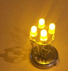 Adventskranz aus ATtiny-Chip und LEDs
