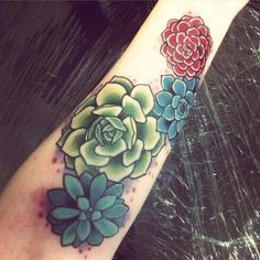 #tattoo #succulents #succulenttattoo