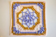 Ravelry: Victorian Dream Square pattern by Cindy Arman