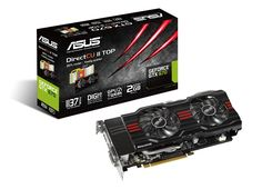 """This up-market graphics card is one of the most efficient ones in the sector and aims to be sold to well-informed customers.  To match this positioning, Asus used a """"two-stage packaging"""", each of them showing different features of the product. The primary packaging, a bunch of technical details on a black background displaying a red claw mark, is about the product's power, technical sturdiness and reliability. The secondary one, sober, almost """"Apple-like"""", is about its up-market positioning."""