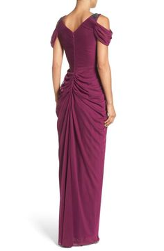 Adrianna Papell Colorblocked Strapless Gown Macys Stylin Pinterest And Gowns