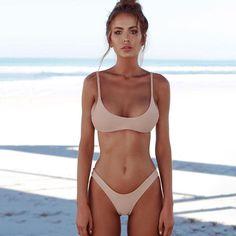 2018 New Sexy Push Up Bikini Set Women's Swimsuits Biquinis Thong Bather Bathing Suit Swimming Swimwear Female Maillot De Bain