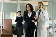 Still of Lana Parrilla, Keegan Connor Tracy and David Anders in Once Upon a Time