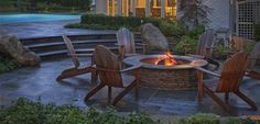 9 Powerful Clever Tips: Fire Pit Gazebo Outdoor Ideas large fire pit home.Fire Pit Party How To Build fire pit gazebo entertaining. Fire Pit Size, Small Fire Pit, Modern Fire Pit, Small Backyard Patio, Backyard Garden Design, Fire Pit Backyard, Landscaping Design, Backyard Landscaping, Patio Design