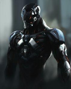 Armors 183169909828753571 - ArtStation – lulala, sai foubalana Source by amonrahl Robot Concept Art, Armor Concept, Fantasy Armor, Dark Fantasy Art, Character Concept, Character Art, Arte Robot, Futuristic Armour, Sci Fi Armor
