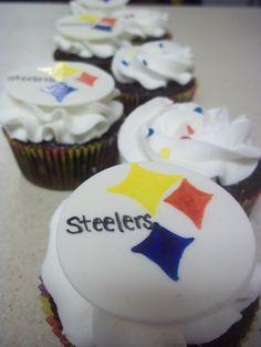steelers cupcakes