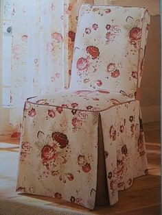 Charmant Waverly Vintage Norfolk Rose ~ Garden Room Slipcovers Set 2