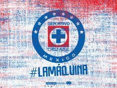 """Wallpaper """"Fabric"""" #CruzAzul #LigraficaMX"""