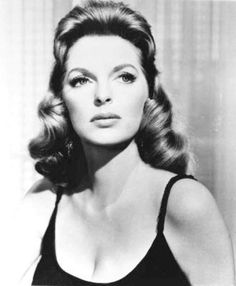 Julie London.  She doesn't have short hair, but it's beautiful hair.