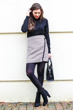Image result for work outfits with tights