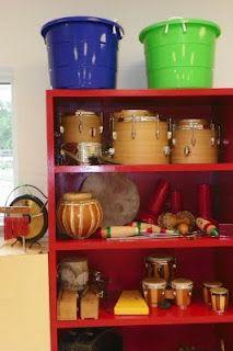 Music room storage