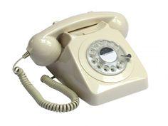 GPO 746 Draaischijf Ivoor - Telefonie - 123platenspeler.nl