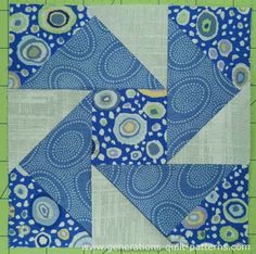 Night Vision Quilt Block: Illustrated Step-by-Step Instructions in 3 Sizes