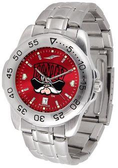 UNLV Rebels Sport Steel Anochrome Watch