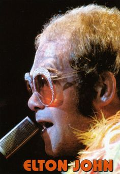 Elton John was my good friend Debbie Reads favorite music artist. she passed and every time I hear him sing it reminds me of her. RIP Deb :o[ Kinds Of Music, Music Is Life, Good Music, My Music, Elton John Costume, My Best Friend, Best Friends, Captain Fantastic, Elton John Aids Foundation