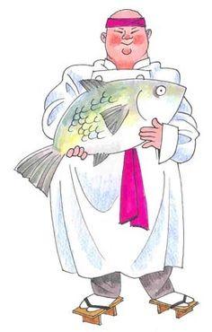 chef.quenalbertini: Chef Sushi by John Bardwell