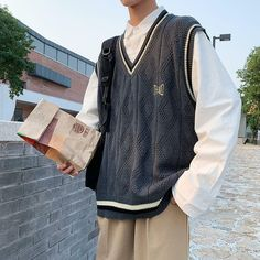 Preppy Mens Fashion, Stylish Mens Outfits, Cute Casual Outfits, Indie Outfits, Retro Outfits, Vintage Outfits, Fashion Outfits, Mode Streetwear, Streetwear Fashion