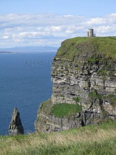 OBriens Tower ~ Cliffs of Moher nr Doolin Co. Clare Ireland  8x10 matted to fit by NJSimages, $24.00    I Lived 20 minutes from here. Stunning Landscape. The place across the water is Connemara, Co. Galway. A rugged and beautiful place The Irish Lanquage is the dominant language used in Connemara and on the Aran Islands,<3<3