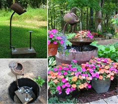 Teapot Fountain DIY