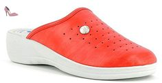 INBLU , Chaussons pour femme Rouge rouge 41 - Rouge - rouge, 39 EU - Chaussures in blu (*Partner-Link)