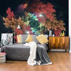 Fototapeta - Kolorowy las