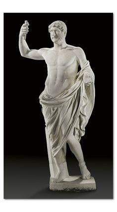 A ROMAN MARBLE STATUE OF THE EMPEROR HADRIAN CIRCA 117-138 A.D.    Christie's