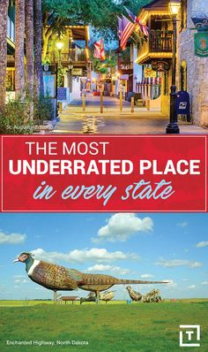 Most Underrated Place in California, Florida, Texas, New York, and Every US State