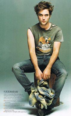 Robert Pattinson, yes please =)