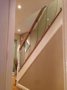 Best Details About Glass Staircase Balustrade Kit Glass Stair 640 x 480