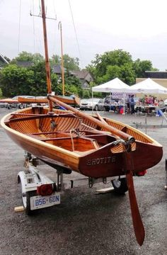 I saw online that Bear Mountain Boats, known for strip plank canoes, had a restored pre-war International 14 at a outdoor boat show somewher...