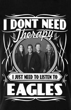 Any mood or situation can be improved or enhanced with The Eagles. Eagles Music, Eagles Lyrics, Eagles Band, Song Lyrics, Music Love, Rock Music, Eagles Take It Easy, Glen Frey, Sing To Me