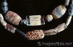 Mohenjo-daro,  Pakistan. Serpentine beads.