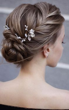 bridal hair;wedding hairstyles;wedding hairstyles half up half down;wedding hairstyles for long hair;wedding hairstyles updo;bride hairstyles;bride hairstyles updo;bride hairstyles medium length;