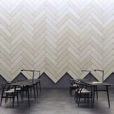 Acoustic panel design for commercial space