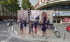 Halley Docherty - Le boulevard des Capucines devant le théâtre du Vaudeville